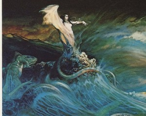 the sea witch by frank frazetta
